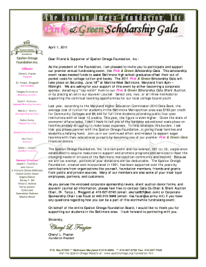 2011 - Corporate Sponsorship Letter-Pink and Green Gala - finaldocx