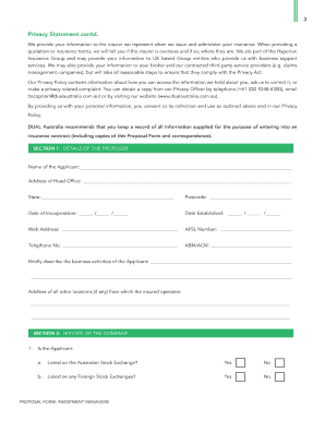 managed services proposal template