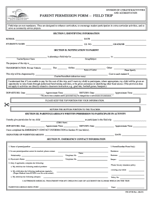 photograph about Printable Permission Slips for Field Trips named market getaway authorization type pdf towards Down load inside Term PDF