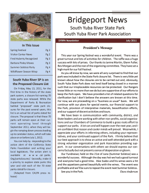 Fillable Online SYRPA Newsletter Fax Email Print - PDFfiller