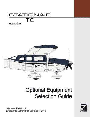 fillable online model t206h optional equipment selection guide july rh pdffiller com Kia Soul Optional Equipment Toyota Optional Equipment