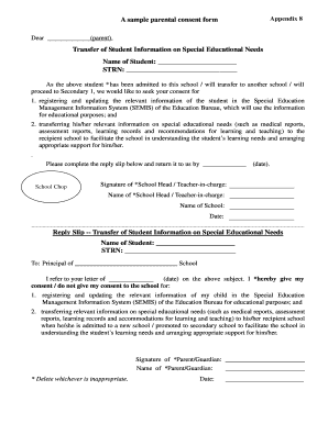 Fillable sample of consent form for parents edit online print sample of bparentb consent form thecheapjerseys Images