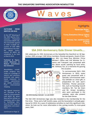THE SINGAPORE SHIPPING ASSOCIATION Waves - ssa wm