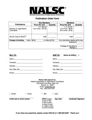 bnalscb publication order form nalsc