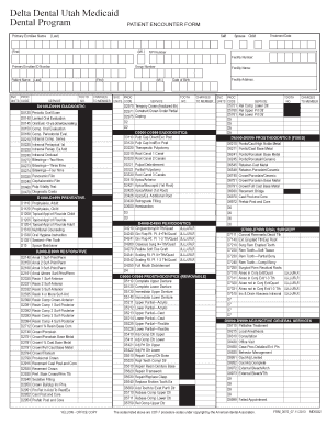 Patient Encounter Form - Fill Online, Printable, Fillable, Blank ...