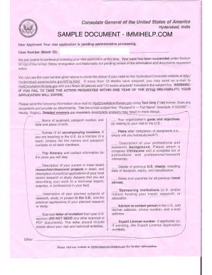 221g Visa Approved 2019