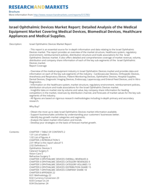 Israel Ophthalmic Devices Market Report: Detailed Analysis of ...