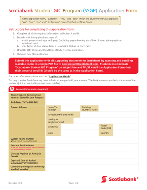 scotiabank business plan template - gic certificate sample fill online printable fillable