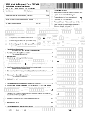 2008 Va Form 760 - Fill Online, Printable, Fillable, Blank | PDFfiller