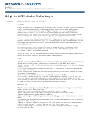 Hologic, Inc. (HOLX) - Product Pipeline Analysis - Research and ...