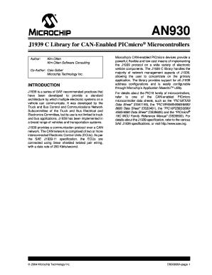 J1939 C Code - Fill Online, Printable, Fillable, Blank