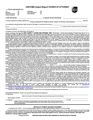 Printable 19 cfr power of attorney - Edit, Fill Out