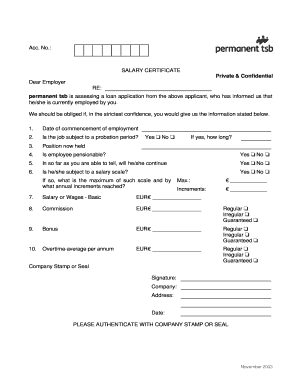 Form of salary certificate fill online printable fillable blank form of salary certificate altavistaventures Images