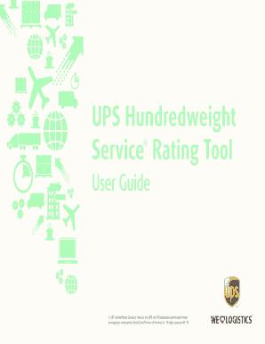 Fillable Online UPS WorldShip(MC) 2011 User Guide - UPS com