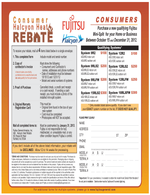 Halcyon heat rebate form2012_Layout 1 - Johnstone Supply