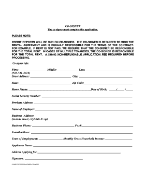 Arcata Property Management Form