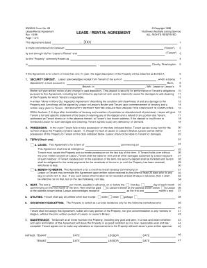 Northwest Multiple Listing Service Form 68 Fill Online