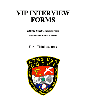 dmort vip forms