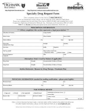 20 Printable blue cross blue shield prescription reimbursement form