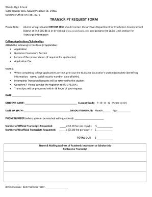 online pdf filler High School Transcript Pdf Filler - Fill Online, Printable, Fillable ...