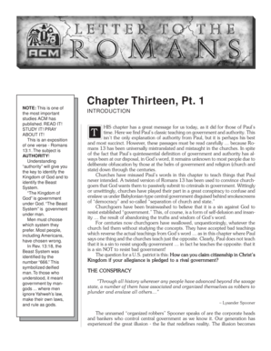 Letter to the Romans Part 13 a. Letter to the Ecclesia in Rome