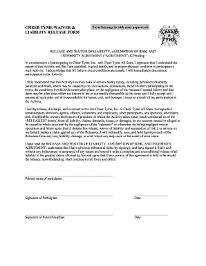 Cheerleading Waiver Release Form - Fill Online, Printable, Fillable on medical calendar template, background check policy template, medical contact template, medical liability waiver form, medical information template, medical financial waiver form, medical insurance waiver, medical waiver of liability template, medical schedule template, authorization to release information template, medical application template,