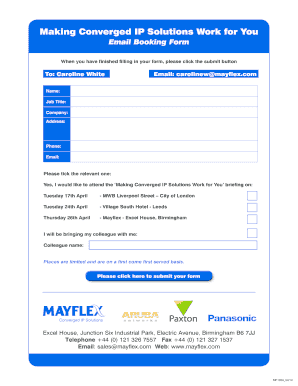 Making Converged IP Solutions Work for You - Mayflex