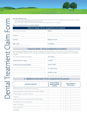 ALC 5132 211011 Dental Claim Form.qxd