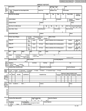 Arrest forms fill online printable fillable blank pdffiller form arrest maxwellsz