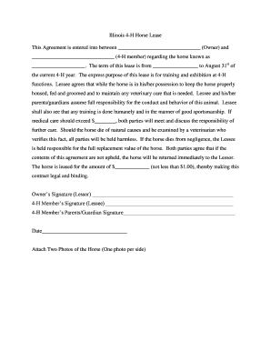 21 Printable horse free lease Forms and Templates - Fillable