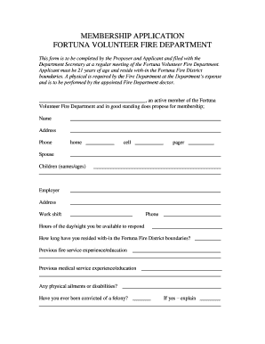 27965487 Volunteer Fire Department Application Forms on volunteer library application, volunteer fire company, fire department job application, volunteer fire recruit,