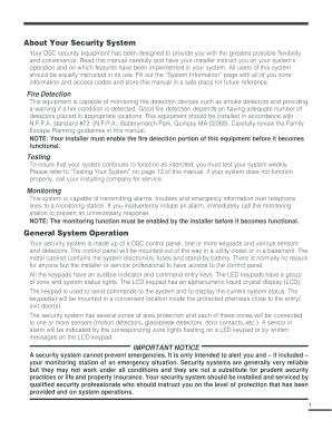 fillable online dsc classic pc 1565 users manual security help rh pdffiller com