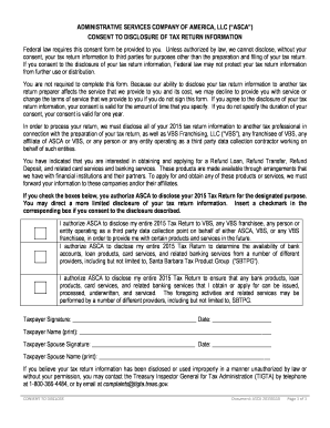 asca informed consent form - Fillable & Printable Online ...