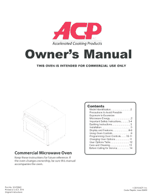 Owners Manual - bCelcob Inc - celco