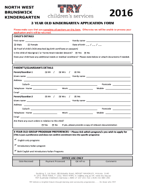 NWBK 2016 3 year old application form and information sheetdoc