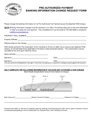 Bank change order form to Download in Word & PDF - Editable ...