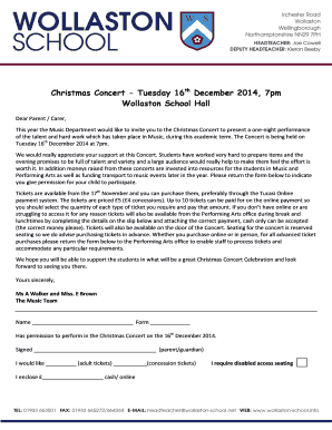 how to write permission letter for school