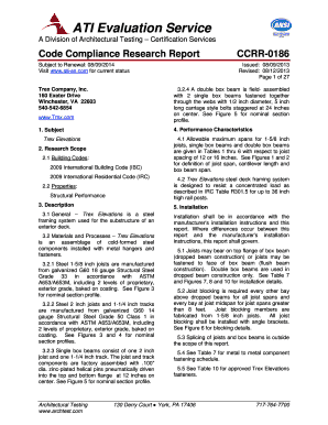 Code Compliance Research Report CCRR-0186 - bScene7b