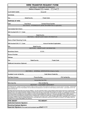 customer information form template excel