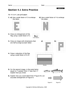fillable online 1 extra practice for 1 to 4 use grid paper fax