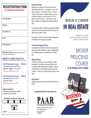 Real Estate Licensure and Continuing Education, Spring 2016 ...