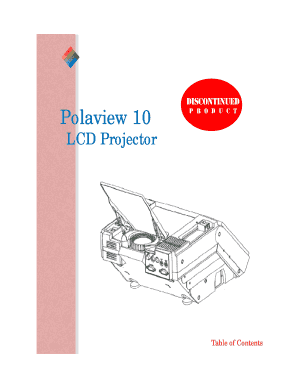 Polaview 10 LCD Projector - beverythingretekbbcomb