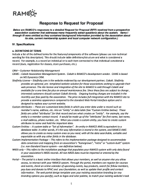 Response to Association RFP Updated 5-2014-full