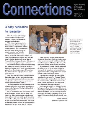 A baby dedication to remember - Virginia Mennonite Missions - vmmissions