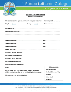 school admission form template Edit Fill Print Download Best