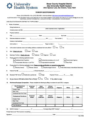 Fillable Online UNIVERSITY HEALTH SYSTEM - uhsemailcom Fax