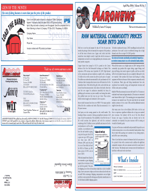 5254 AAC Newsletter - Aaron & Company
