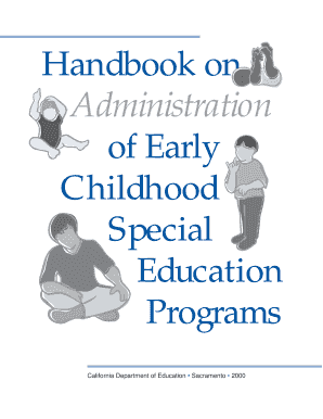 Fillable Online seedsofpartnership Administration Handbook