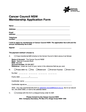 cancer council nsw how to order booklets