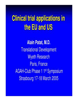 Phase 1 Trial In France